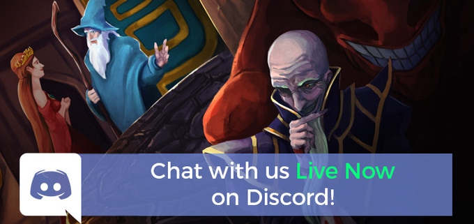 ^ Click now to chat live with both devs and fans alike on Discord!