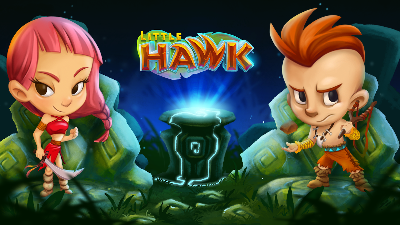 Little Hawk is an action-packed 2D platformer game with animal totems that help you defeat evil, rescue a princess, and save the world!