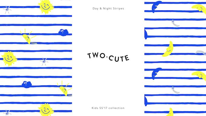 Day & Night Stripes prints  -  handmade illustrations