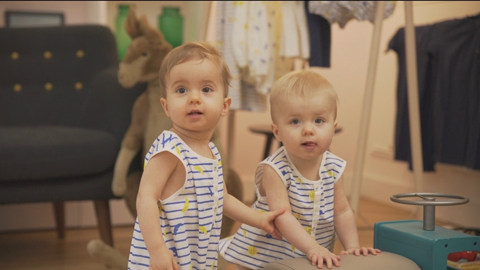 Day & Night Stripes rompers - 100 % cotton for your little ones