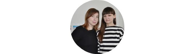 Federica Richiardone and Corina Pitic