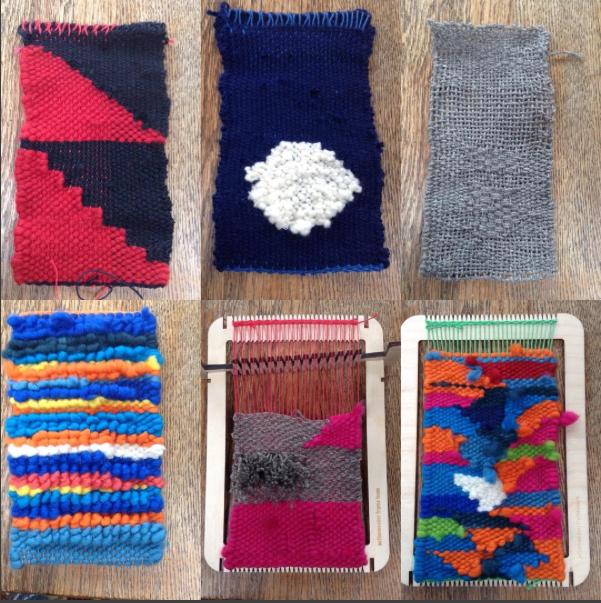 100 Mini Tapestries On A Functional Loom By Travis Meinolf