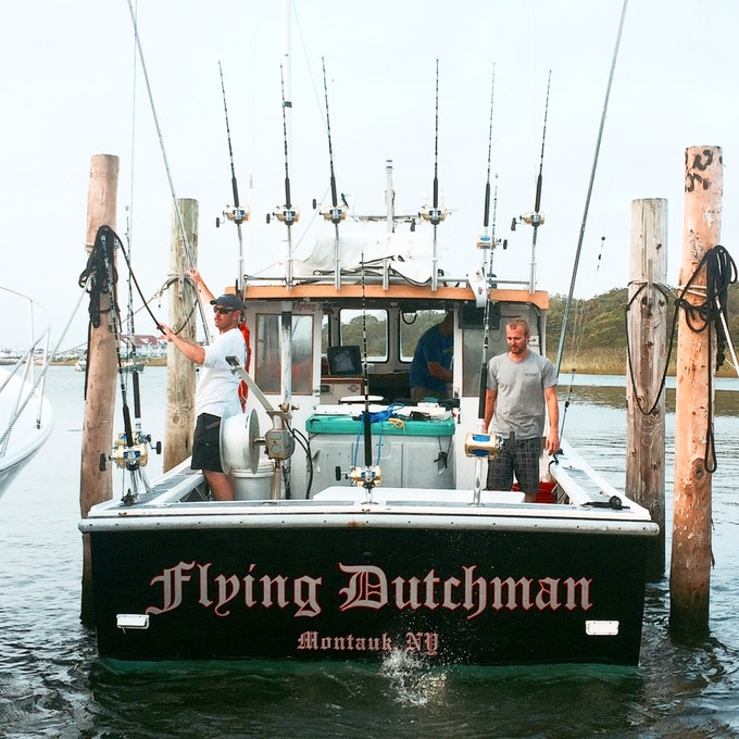 The Flying Dutchman will be among the first boats in our Fish Trax system
