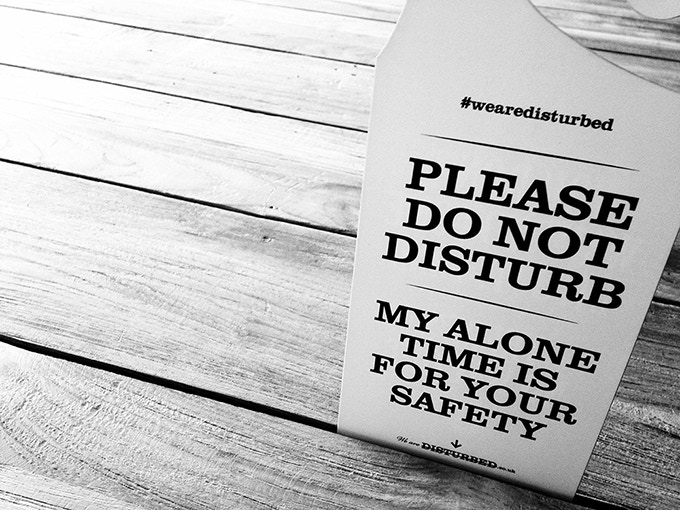 Introvert and INFJ 'Do Not Disturb' Hanging Door Signs by ...