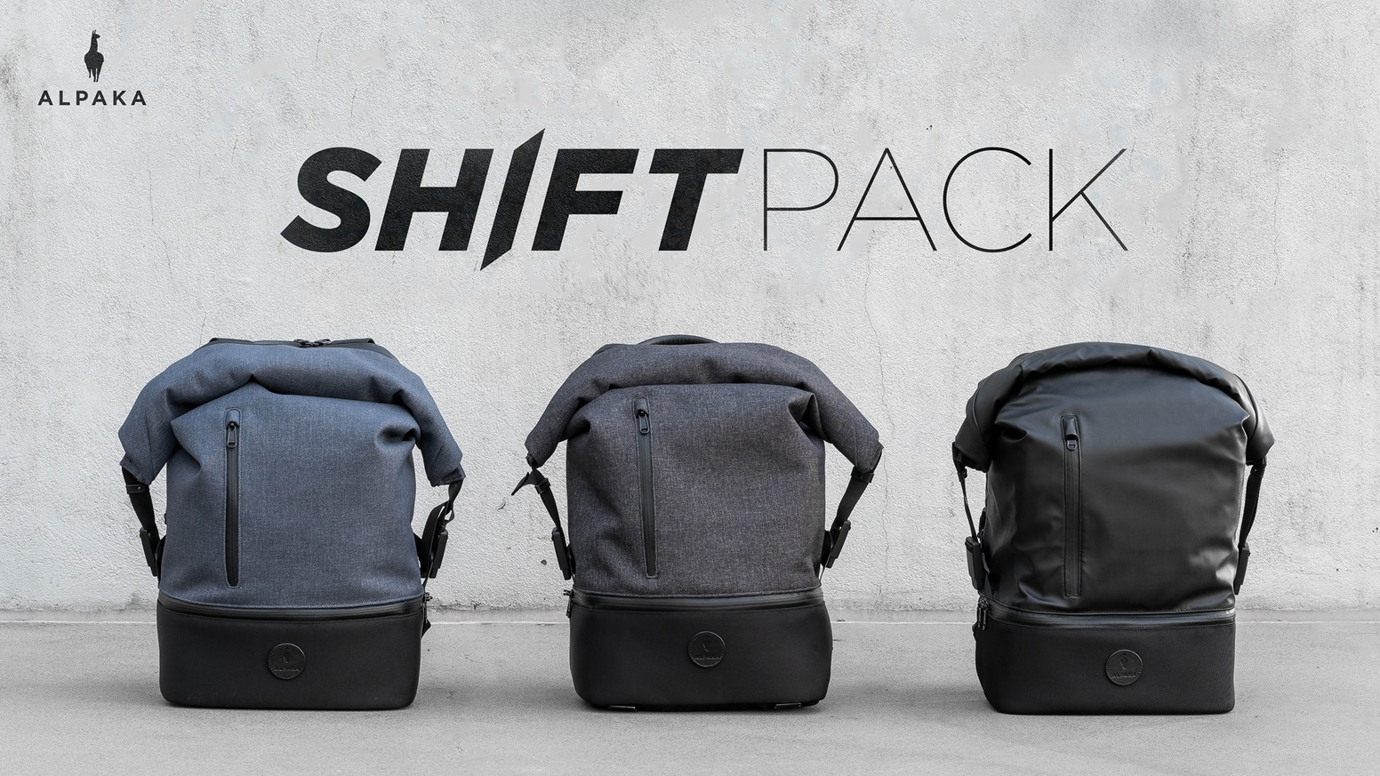 The Shift Pack is a stylish everyday backpack designed to adapt to your lifestyle. Modular, Versatile and Functional.