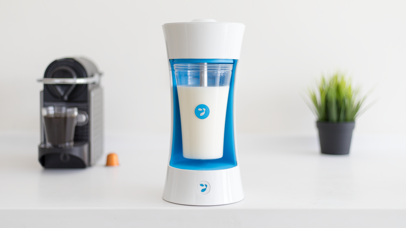 Yomee is revolutionizing homemade yogurt: With its Keurig-like design, just add milk and a Yomee pod to enjoy fresh, healthy yogurt