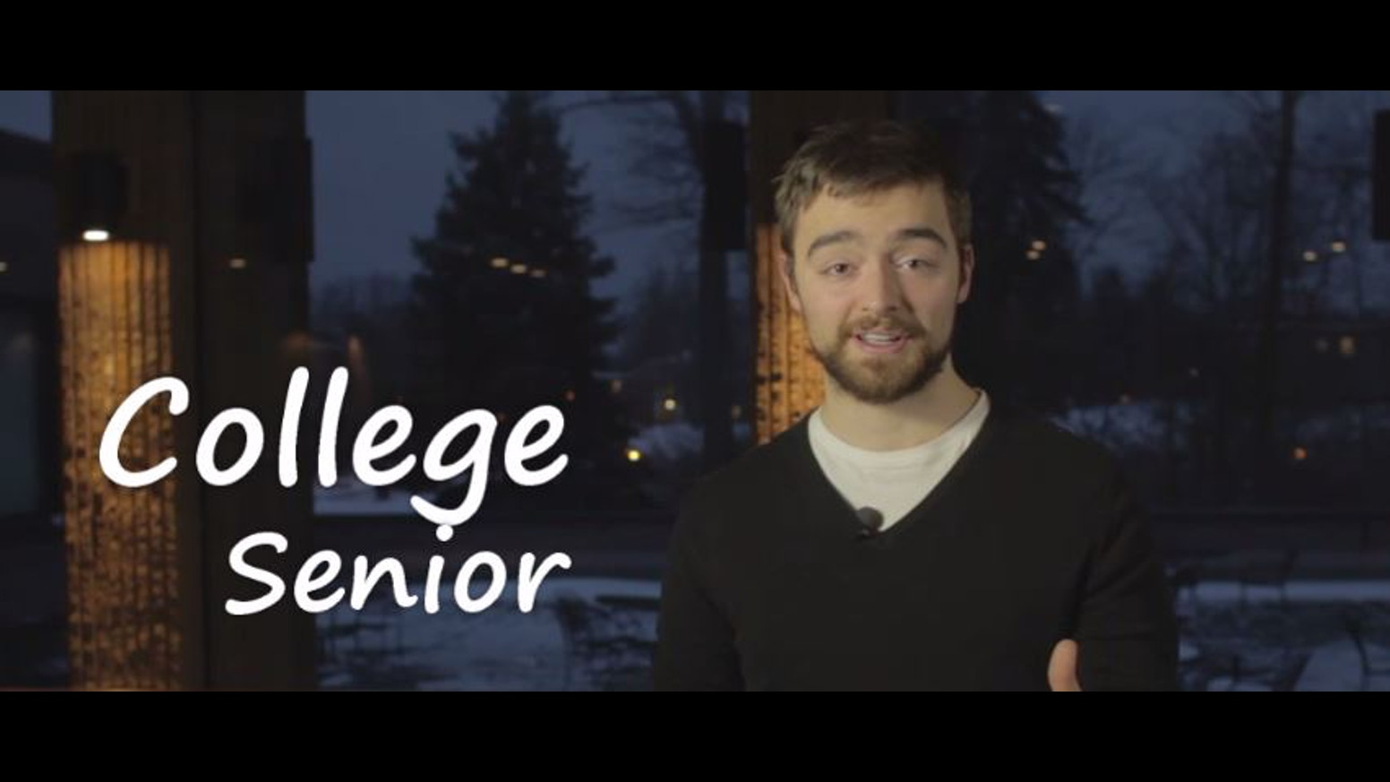 college senior by nick d agosta kickstarter college senior