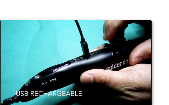 Solderdoodle Plus Usb Rechargeable Hot Multi Tool By