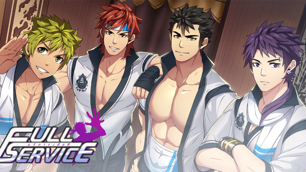 Update 41: November 2019 · Full Service ☆ BL/Yaoi/Gay Game ☆ Dating Sim ☆ Visual Novel