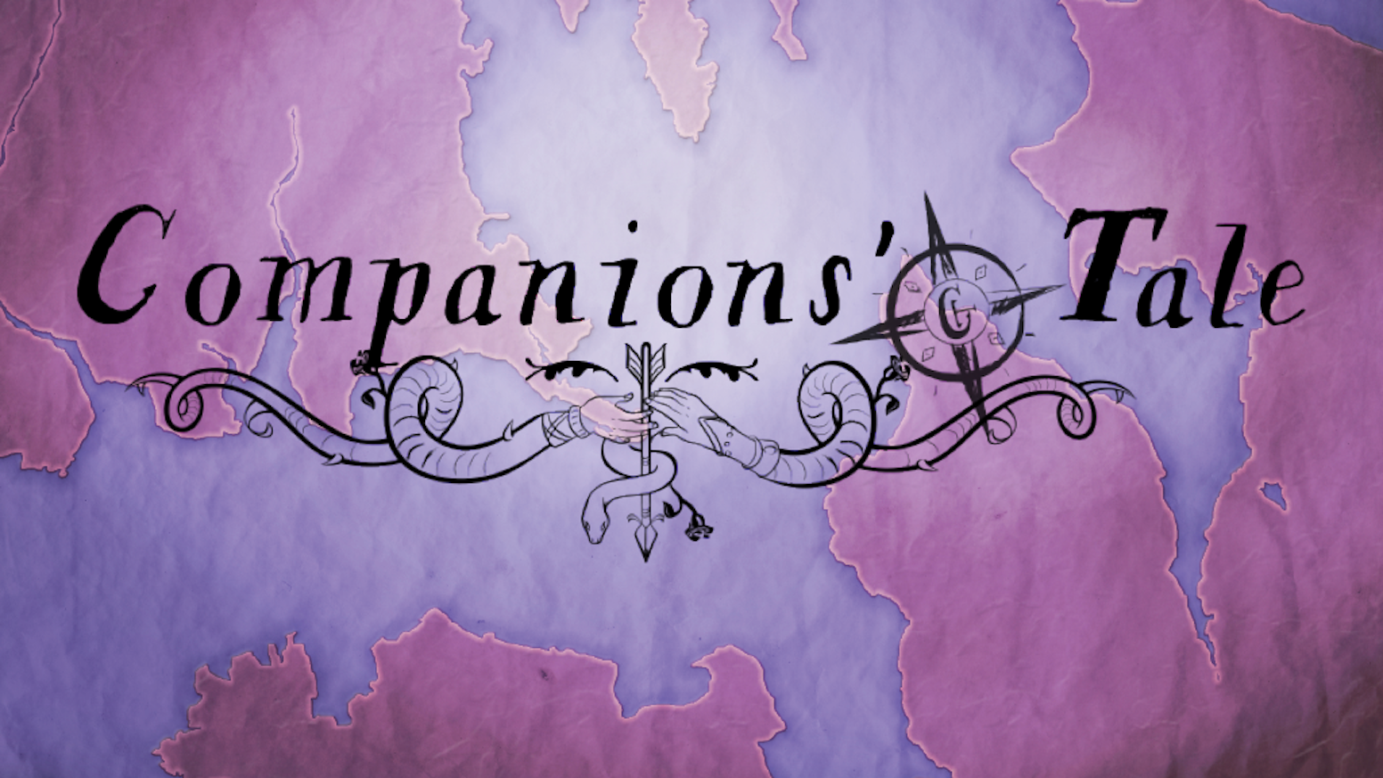 Companions' Tale is a map-making storytelling game about an epic hero—from the point of view of the hero's companions.