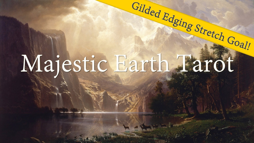 Majestic Earth Tarot: Storm and Wonder project video thumbnail