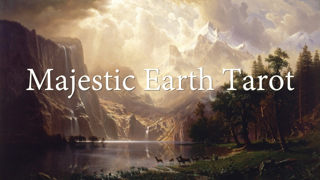 Majestic Earth Tarot: Storm and Wonder