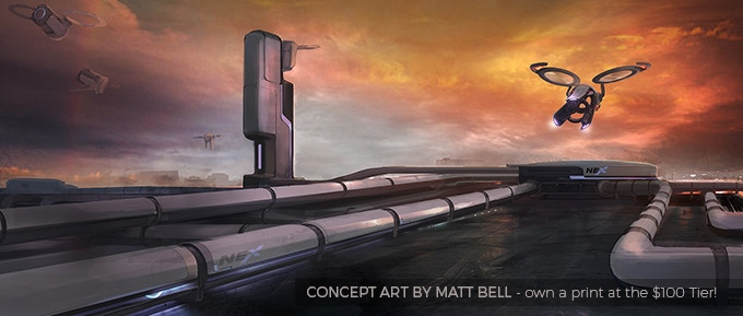 SKYWATCH: a sci-fi short by Colin Levy — Kickstarter