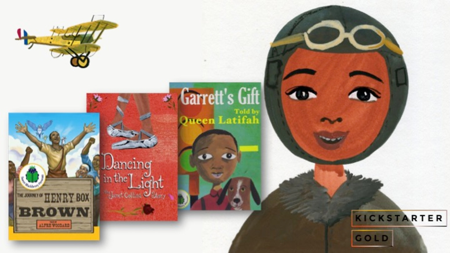 Animated short on Bessie Coleman, the first African-American woman to become a pilot.