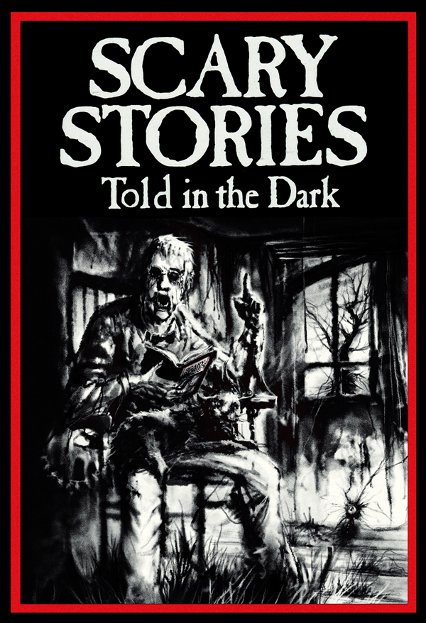"Cover art for the Otis Jiry narrated audio book ""Scary Stories Told in the Dark"""