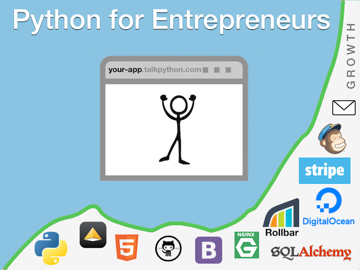 Python for Entrepreneurs [ video course ] by Michael Kennedy