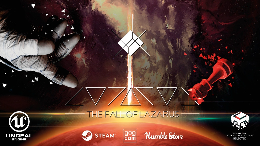 The Fall of Lazarus - A science fiction mystery game miniatura de video del proyecto