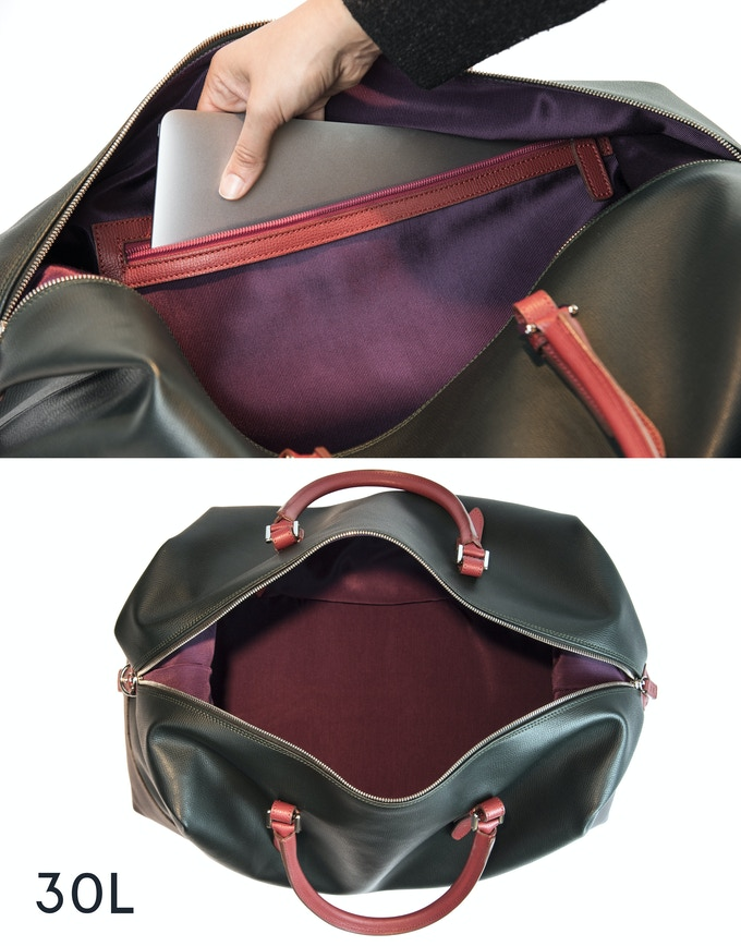 EXTRA space inside the bag for your life essentials such us notebook, tablet etc