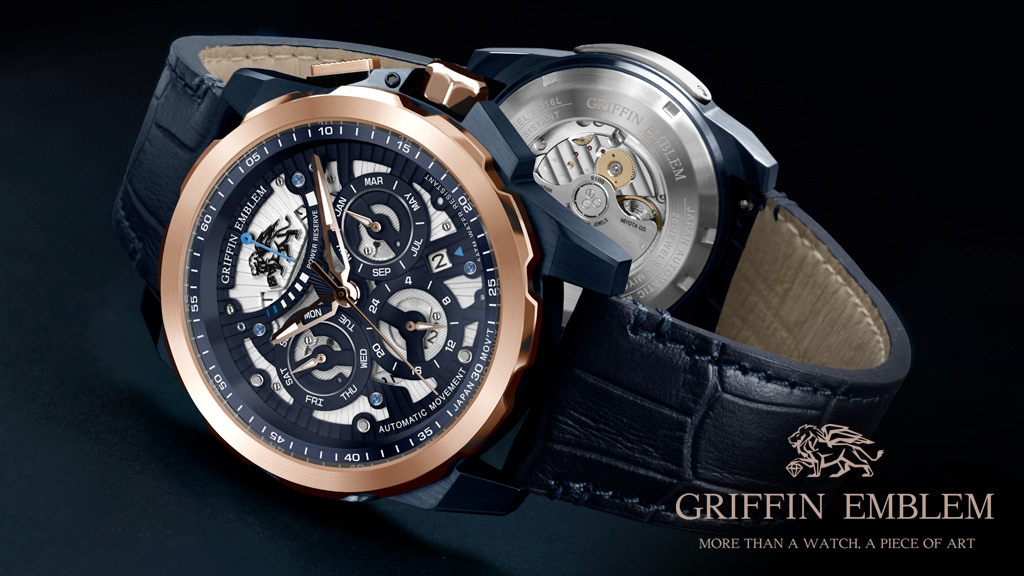 Griffin Emblem: More Than an Automatic Watch, a Piece of Art project video thumbnail