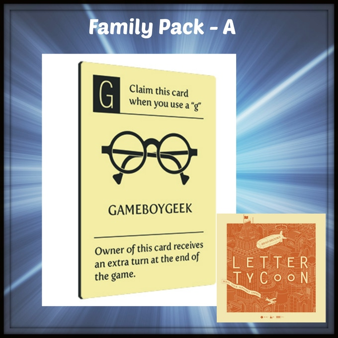 A new type of card for Letter Tycoon by Breaking Games!