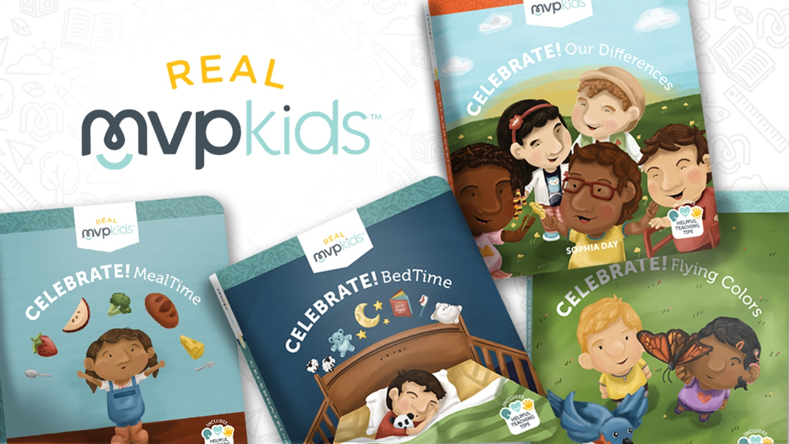 Real MVP Kids' innovative book series makes it easier for children to grow up well regardless of background, ethnicity or special needs