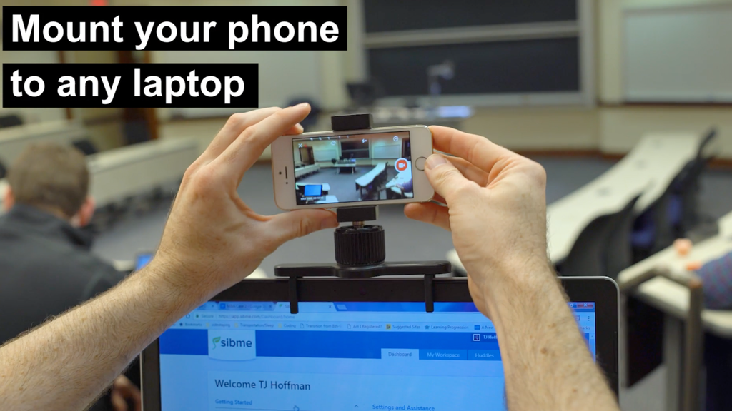 Clip your smartphone to your laptop! project video thumbnail