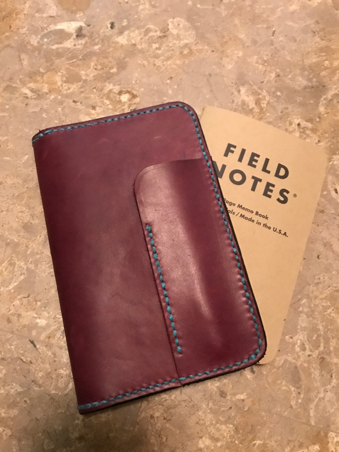 Horween Leather Field Notes And Passport Cases By Jonathan