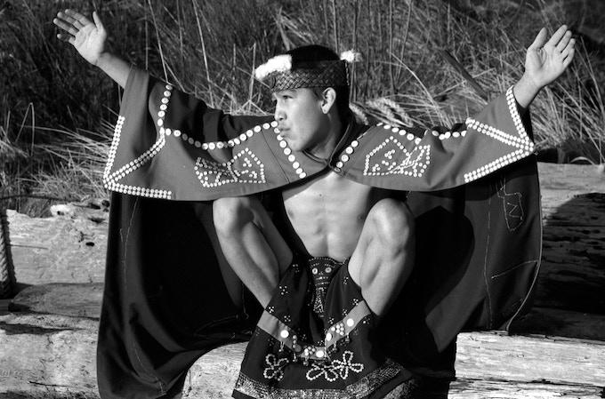 Marcus Alfred, Hamatsa dancer