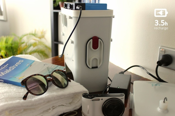 AirBuddy   explore the underwater with tankless dive gear by
