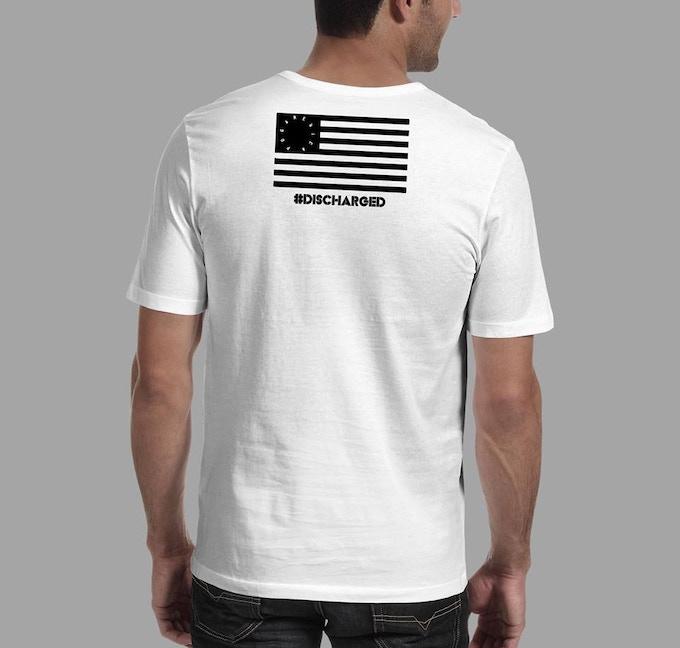 """Brandon's """"No Grunts"""" T-shirt Back courtesy of POG America #NoGrunt"""