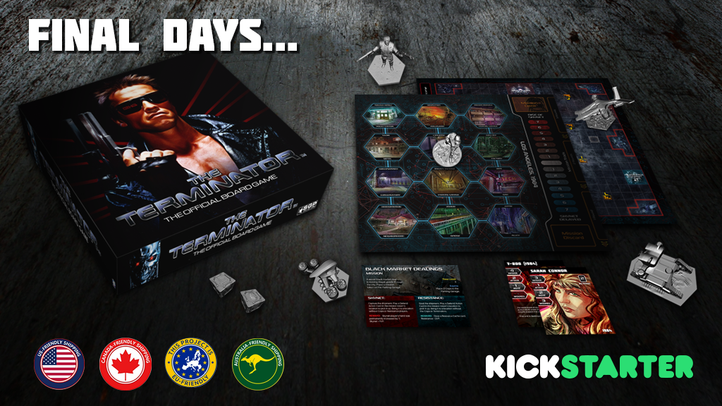 The Terminator™: The Official Board Game project video thumbnail