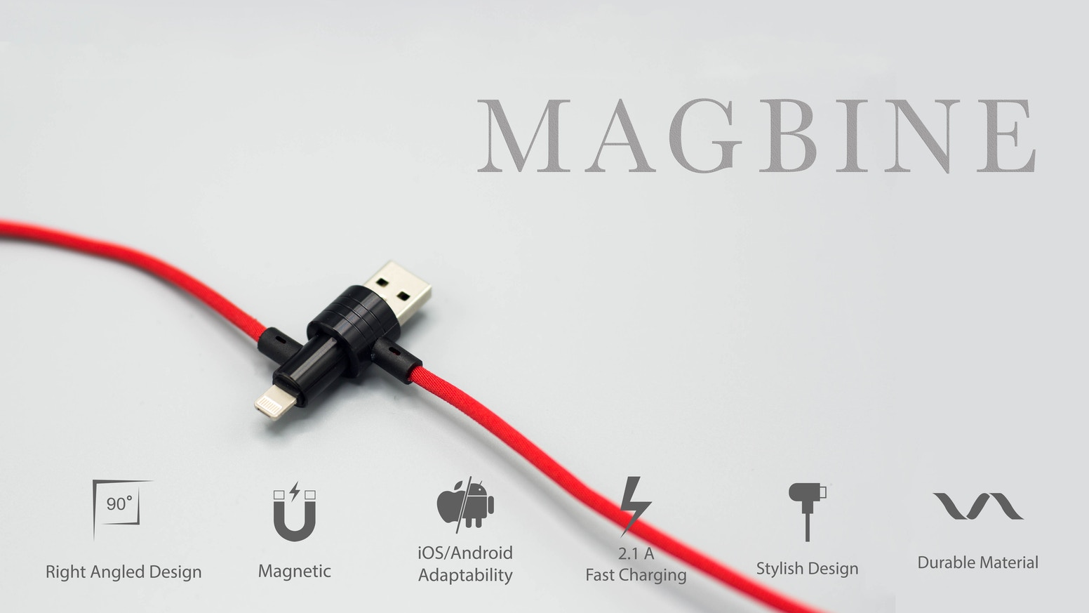 Magbine World S First Magnetic Cable For All Devices By