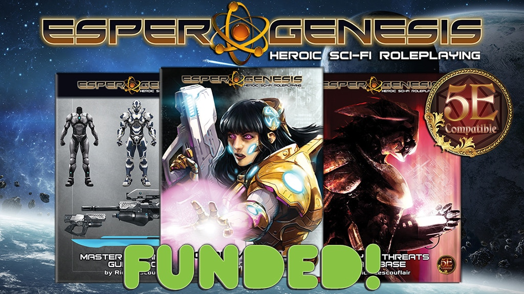 Esper Genesis: Heroic Sci-Fi Role-Playing for 5E project video thumbnail