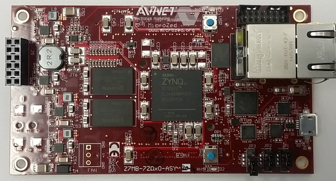 MicroZed FPGA board