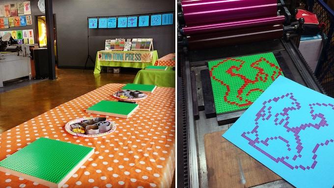 LEGO Letterpress Workshop