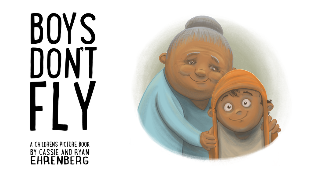 Boys Don't Fly, a children's picture book for young readers project video thumbnail