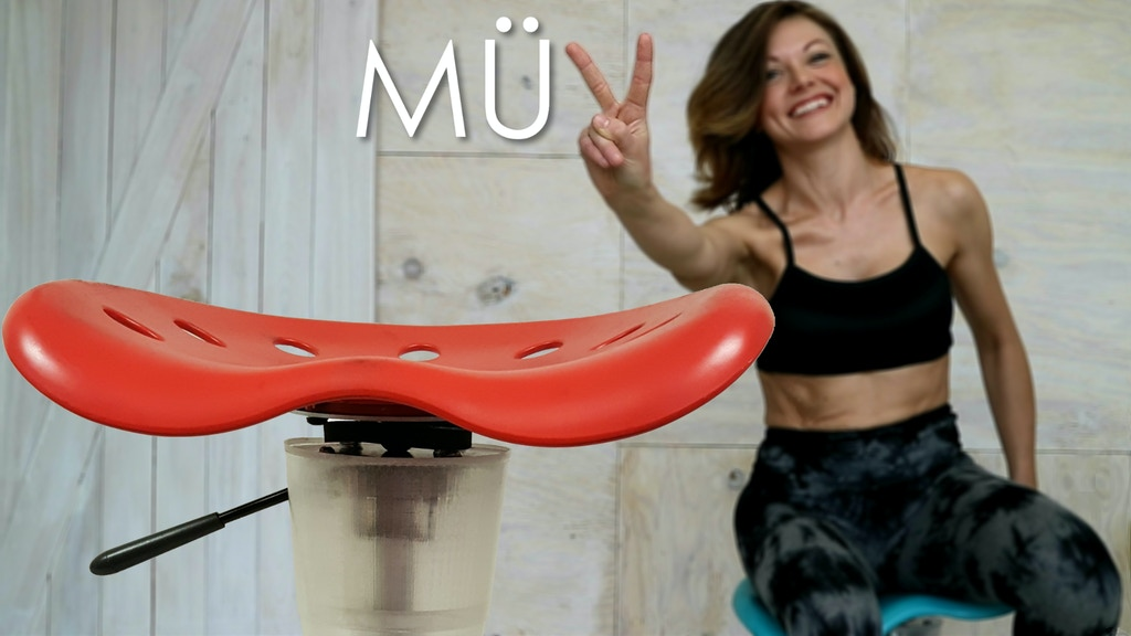 MÜV chair | Perfect Posture & Stronger Core Effortlessly project video thumbnail