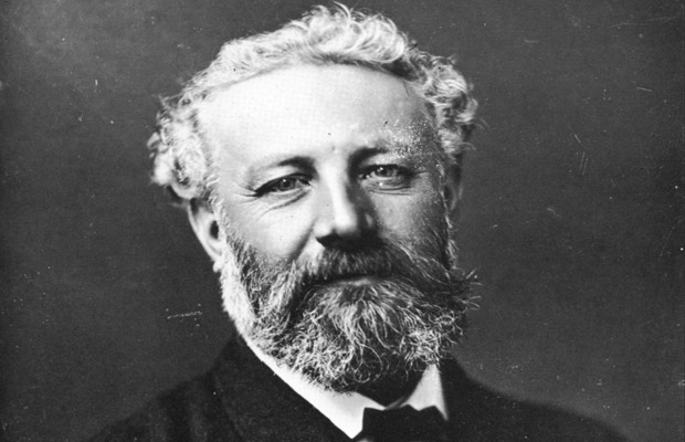 "Jules Verne, Author of ""From the Earth to The Moon"""