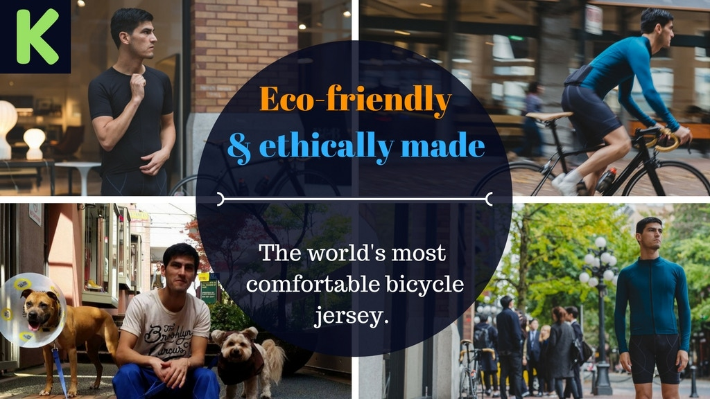 The World's Most Sustainable and Comfortable Bicycle Jersey project video thumbnail