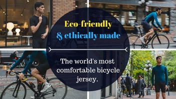 The World's Most Sustainable and Comfortable Bicycle Jersey