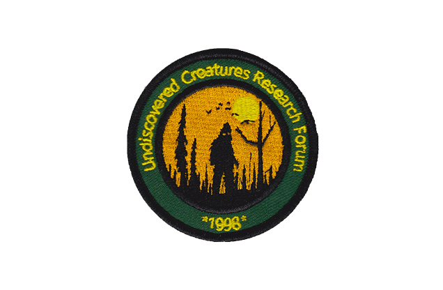 Manufacturer's sample of the UCRF patch ($50 and up)