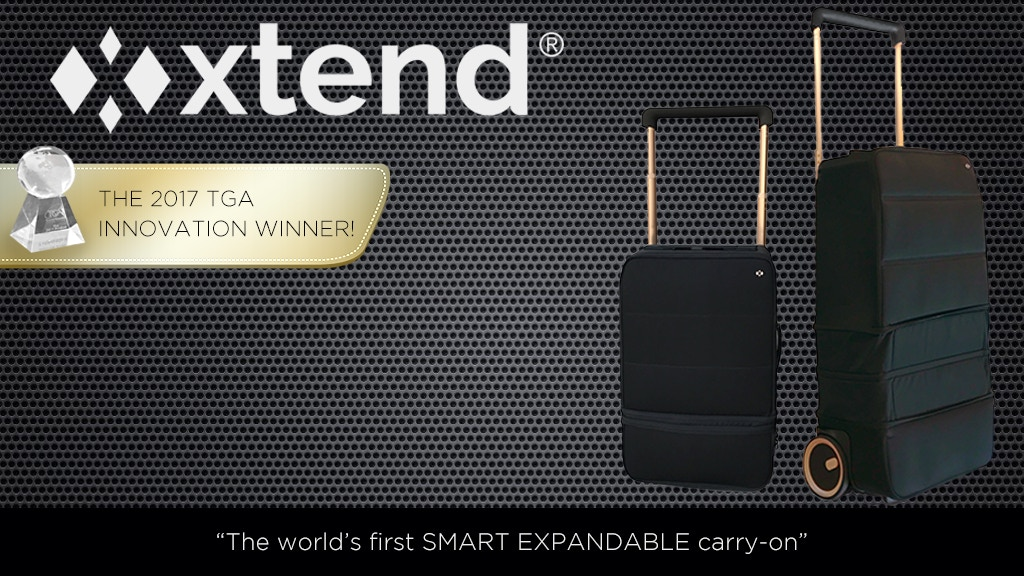 XTEND | The world's first expandable SMART carry-on! project video thumbnail