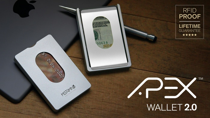 You'll own this wallet for the rest of your life!