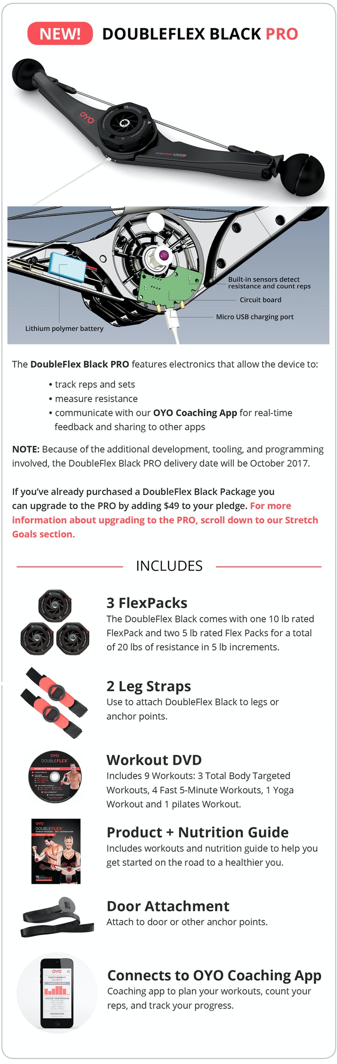 Total Body Portable Gym Doubleflex Black Oyo Fitness By Paul The Totalbody Circuit Workout You Can Do While Travel Skip Crowded And Expensive Health Club Enjoy A At Your Convenience