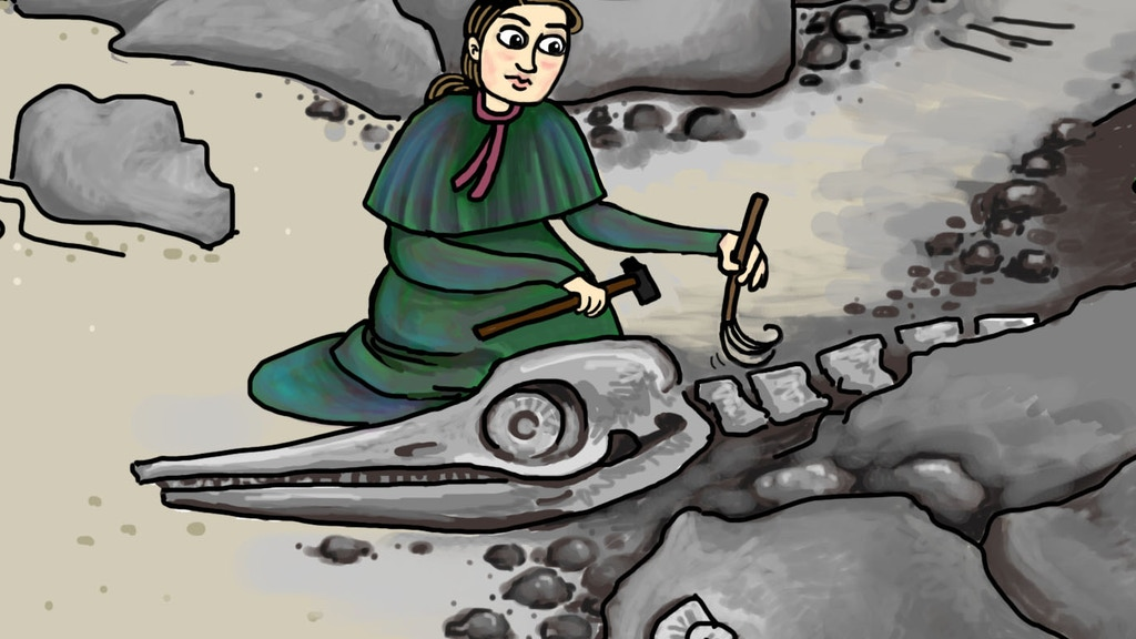 She Found Fossils: A Kid's Book About Women in Paleo project video thumbnail