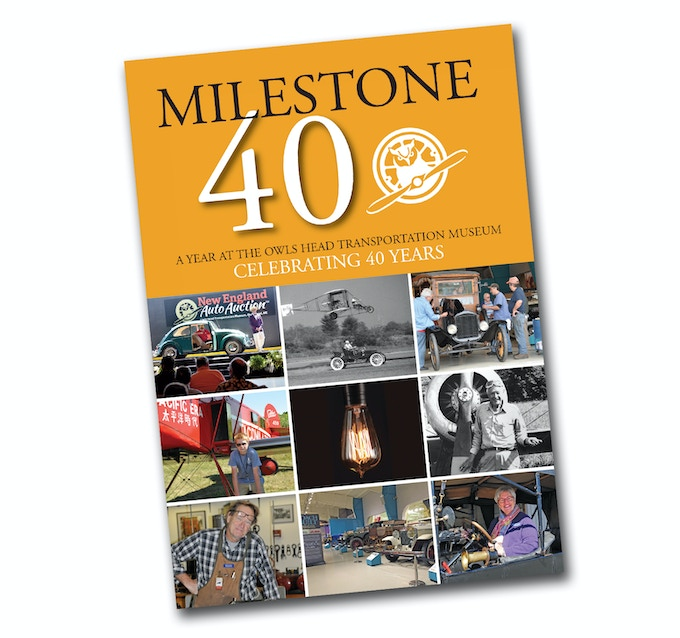 Get your copy of Milestone 40 while they last!