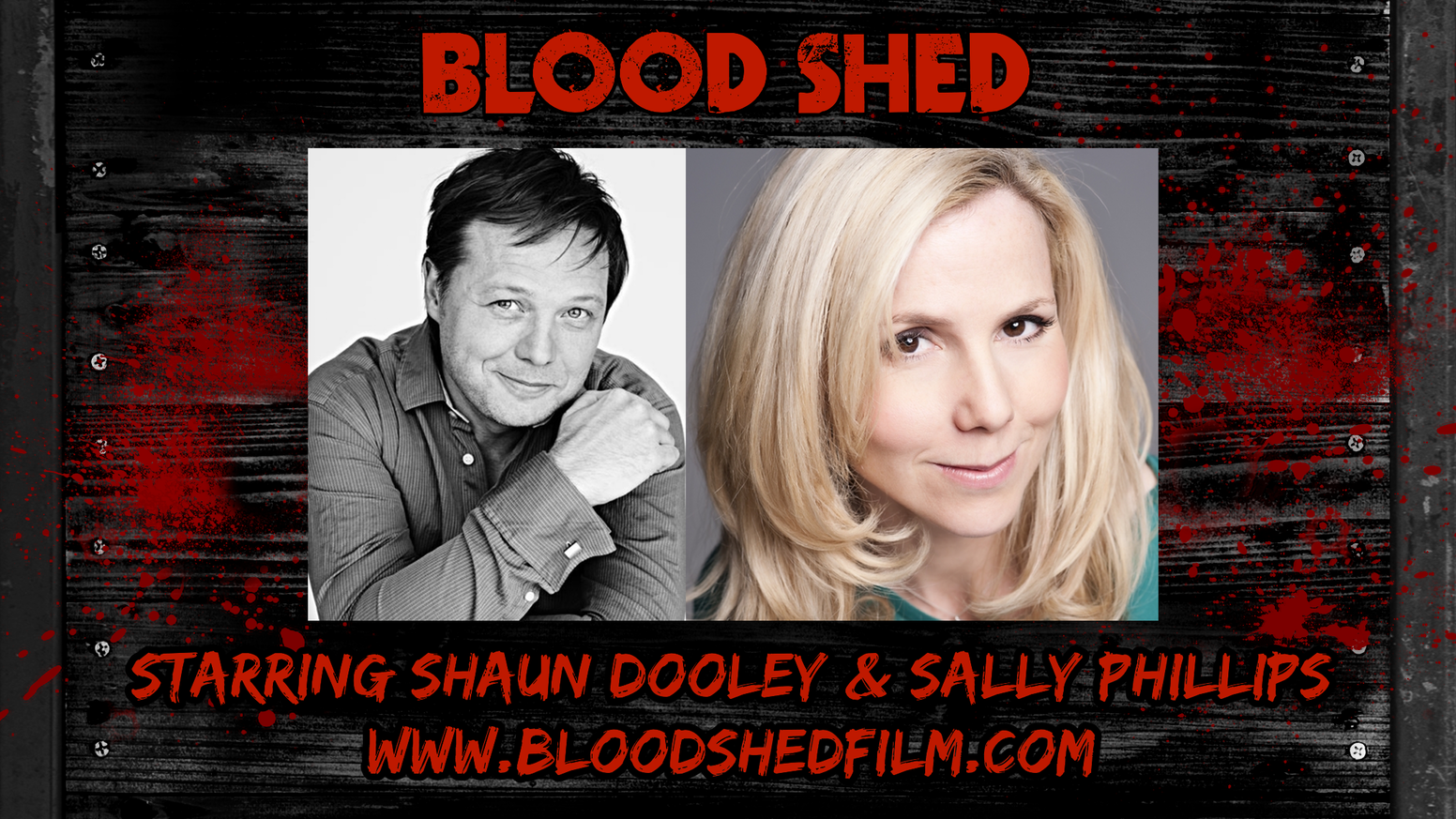 Blood Shed: Comedy horror short about a man-eating shed! by James