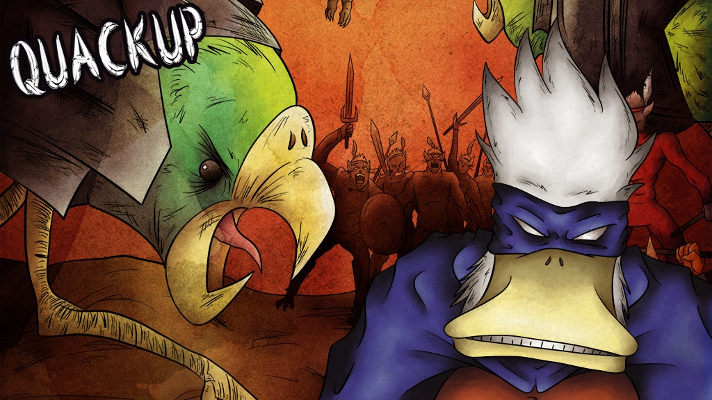 Jonathin Quackup: Issue #2 - Cat Warriors Capture Our Hero! project video thumbnail