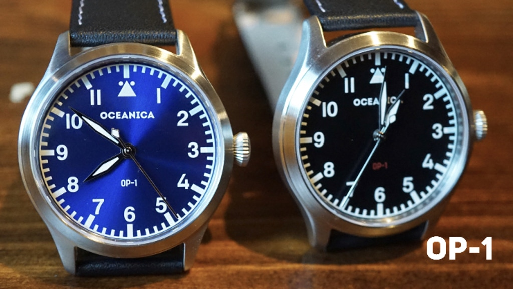 OCEANICA OP-1 Automatic Men's Watch project video thumbnail