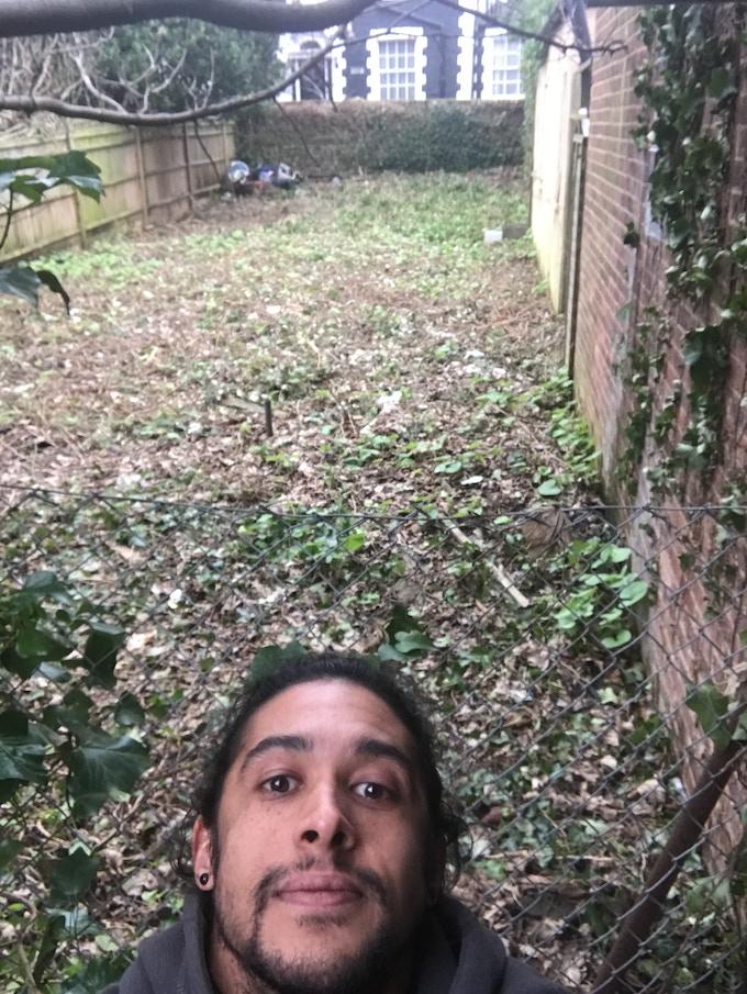 Lots more garden space!!